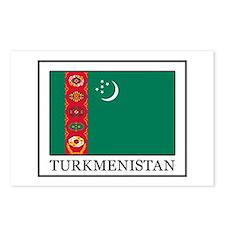 Turkmenistan Postcards (Package of 8)
