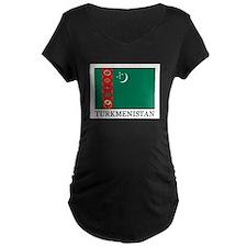 Turkmenistan Maternity T-Shirt