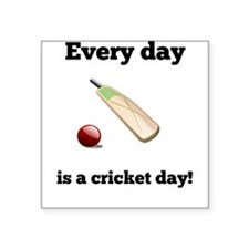 Every Day Is A Cricket Day Sticker