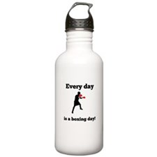 Every Day Is A Boxing Day Water Bottle
