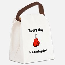 Every Day Is A Boxing Day Canvas Lunch Bag