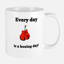 Every Day Is A Boxing Day Mugs