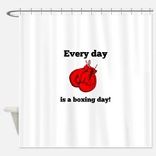Every Day Is A Boxing Day Shower Curtain