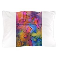 Talking Birds by Vanessa Curtis Pillow Case