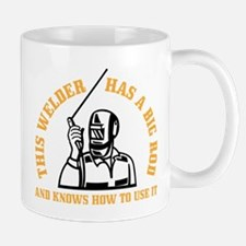 ATTENTION! THIS WELDER HAS A BIG ROD AN Small Small Mug