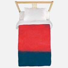 ROTHKO RED AND BLUE Twin Duvet