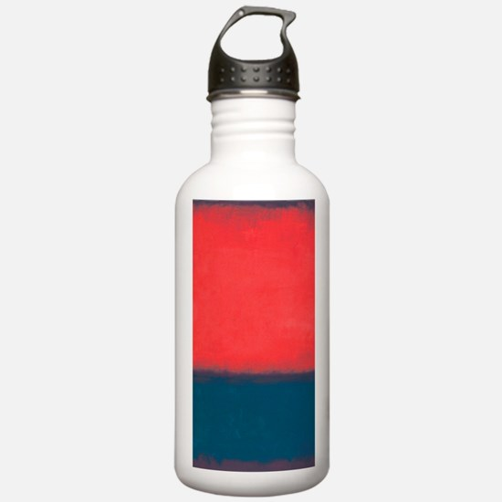 ROTHKO RED AND BLUE Water Bottle