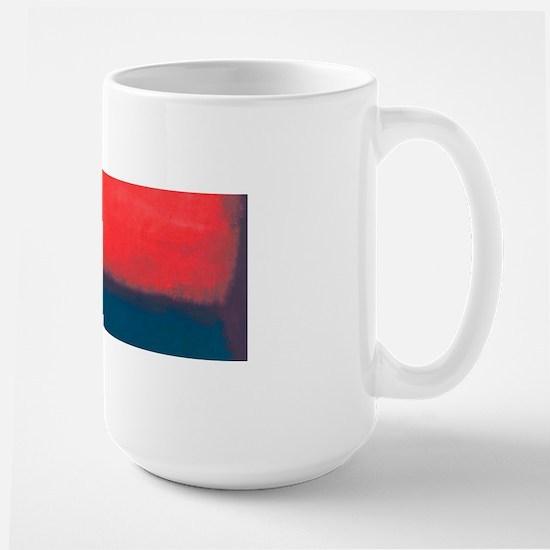 ROTHKO RED AND BLUE Mugs