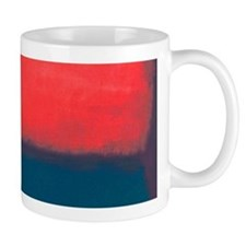 ROTHKO RED AND BLUE Mugs