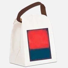 ROTHKO RED AND BLUE Canvas Lunch Bag