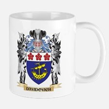 Davidovich Coat of Arms - Family Crest Mugs