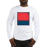 Fine art rothko Long Sleeve T-shirts