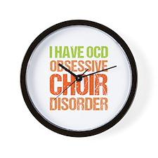 OCD Choir Wall Clock