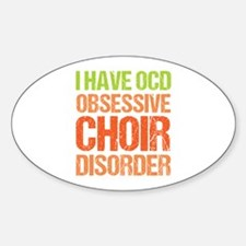 OCD Choir Decal