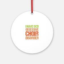 OCD Choir Ornament (Round)