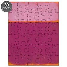 ROTHKO PINK RASBERRY AND ORANGE Puzzle