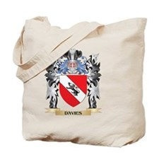 Davies Coat of Arms - Family Crest Tote Bag