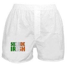 Sox Side Irish Boxer Shorts