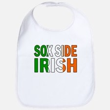 Sox Side Irish Bib