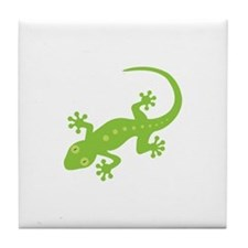 Gecko Lizard Tile Coaster
