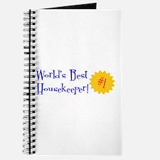 World's Best Housekeeper Journal