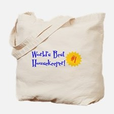 World's Best Housekeeper Tote Bag