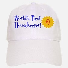World's Best Housekeeper Baseball Baseball Cap