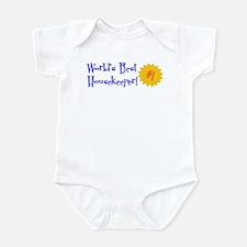 World's Best Housekeeper Infant Bodysuit