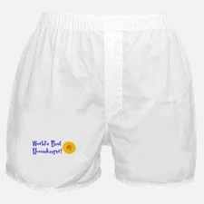 World's Best Housekeeper Boxer Shorts