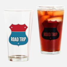 Road Trip Drinking Glass