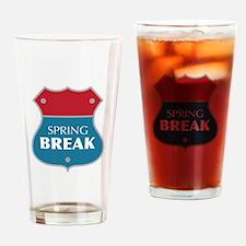 Spring Break Drinking Glass