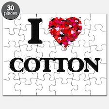 I love Cotton Puzzle