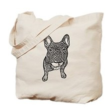 BIG FRENCHIE SKETCH Tote Bag