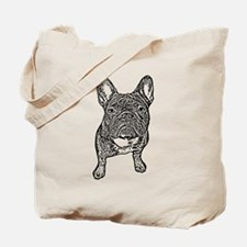 BIG FRENCHIE SKETCH Tote Bag
