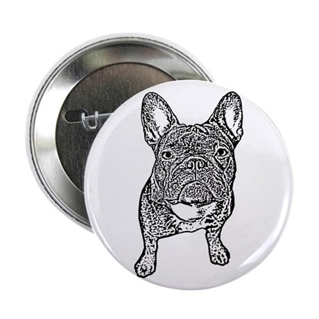 BIG FRENCHIE SKETCH Button