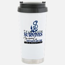 Cute Military valentines Travel Mug