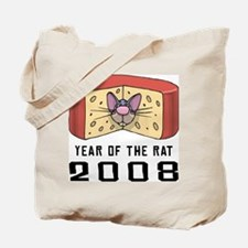 Funny Year of The Rat Tote Bag