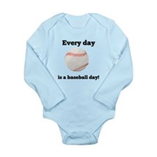 Every Day Is A Baseball Day Body Suit