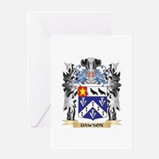 Dawson Coat of Arms - Family Crest Greeting Cards