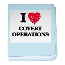 I love Covert Operations baby blanket