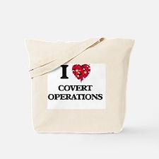 I love Covert Operations Tote Bag