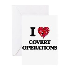 I love Covert Operations Greeting Cards
