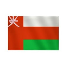 Flag of Oman Rectangle Magnet