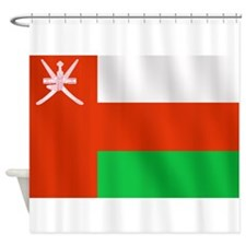 Flag of Oman Shower Curtain