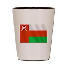 Flag of Oman Shot Glass