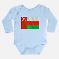 Flag of Oman Long Sleeve Infant Bodysuit