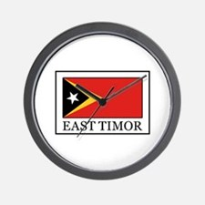 East Timor Wall Clock