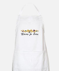 Loves to Sew BBQ Apron