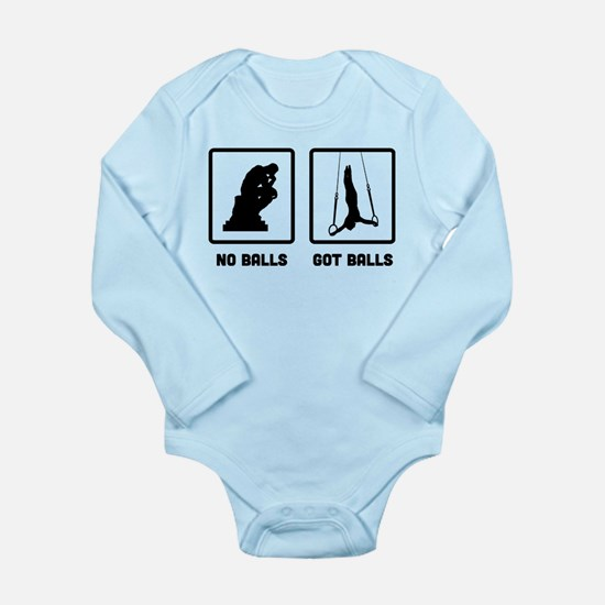 gymnastic still Long Sleeve Infant Bodysuit