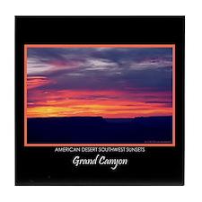 Grand Canyon Sunset #5 Souvenir Tile